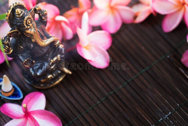 Statue de Dieu indien d'hindouisme de Ganesha photographie stock libre de droits