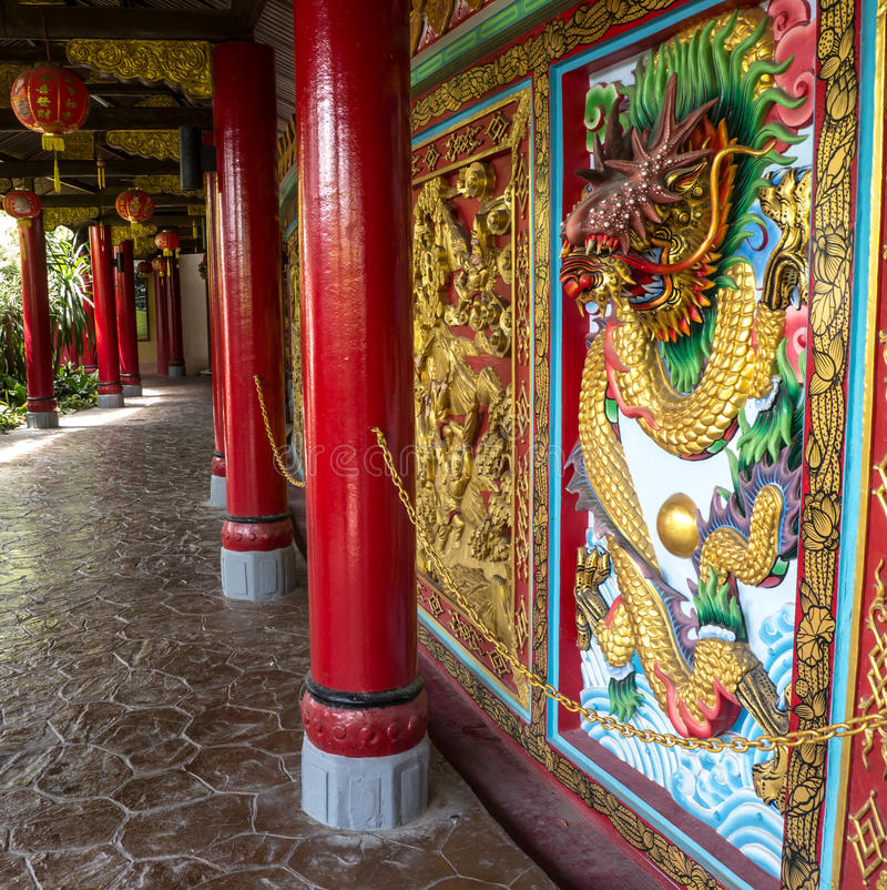 Statue de dragon photographie stock libre de droits
