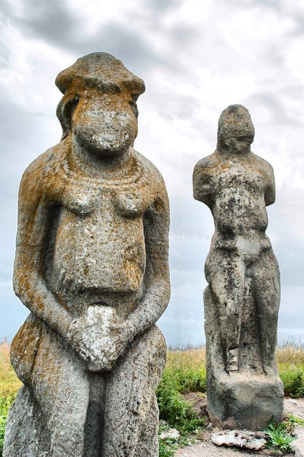 Statue de femme de Scythian image libre de droits