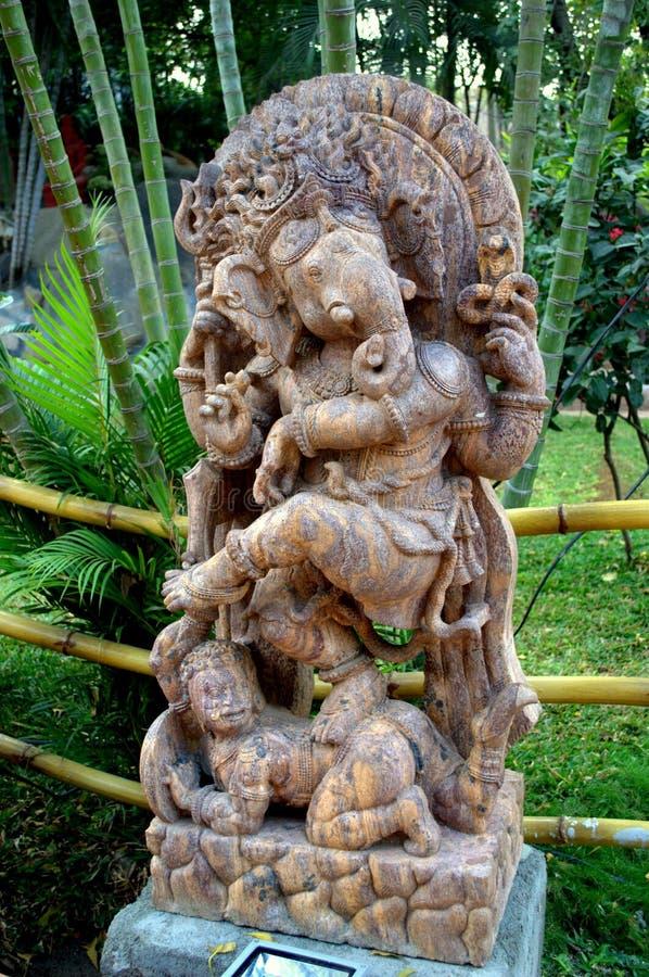 Statue de Ganesha, Dieu indou image libre de droits