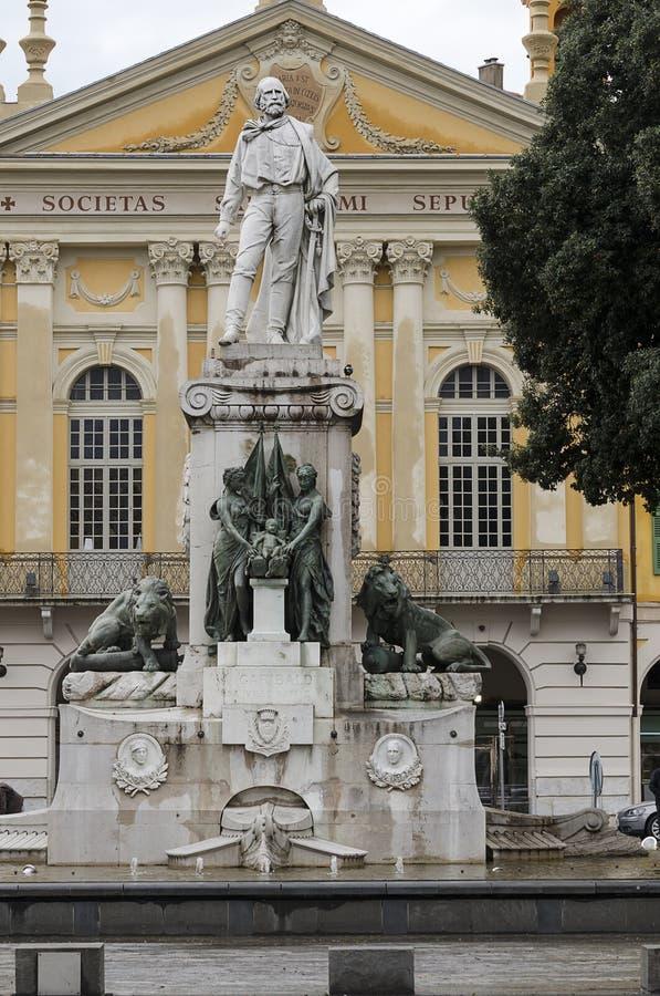 Statue de Garibaldi photo stock