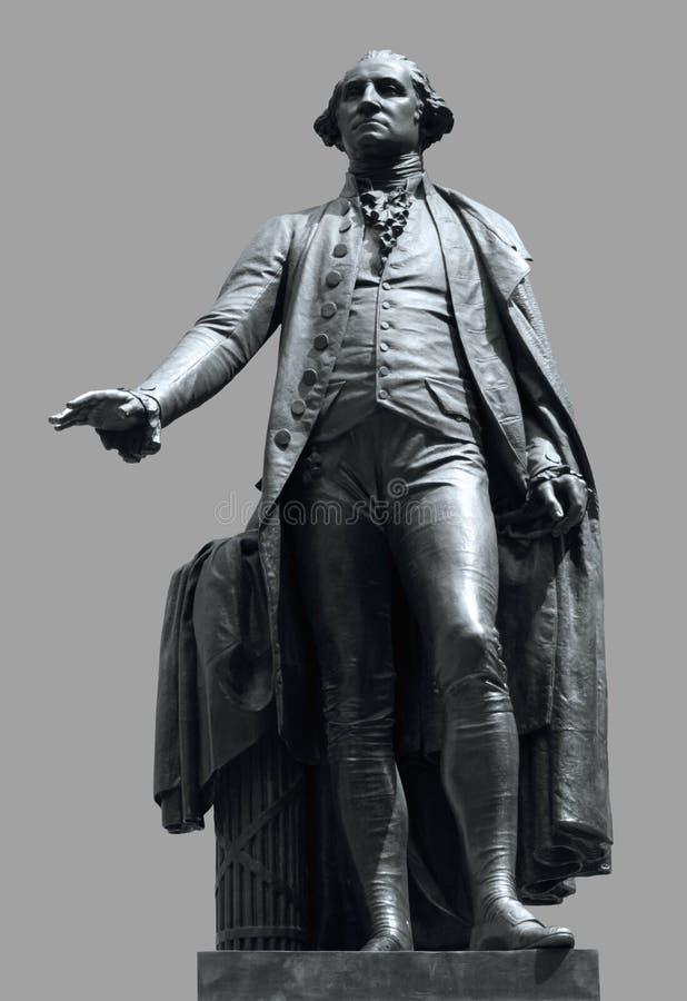 Statue de George Washington photographie stock