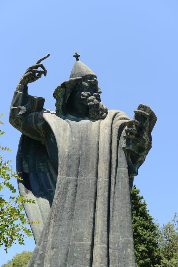 Statue de Gregorius de Nin photographie stock libre de droits