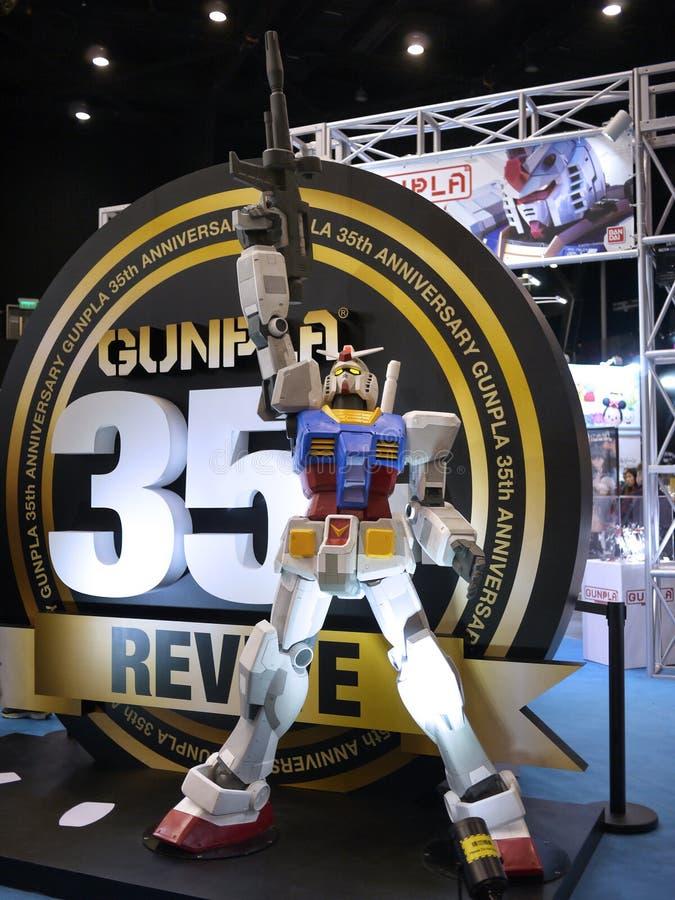 Statue de Gundam photographie stock libre de droits