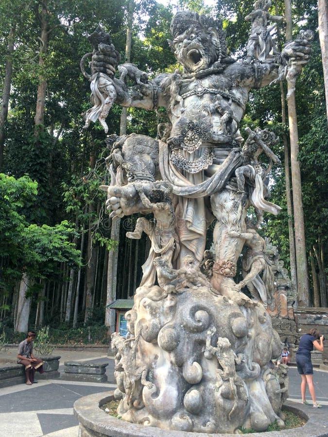 Statue de Hanuman, Bali images stock
