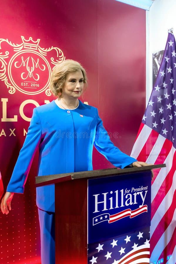 Statue de Hillary Clinton photographie stock