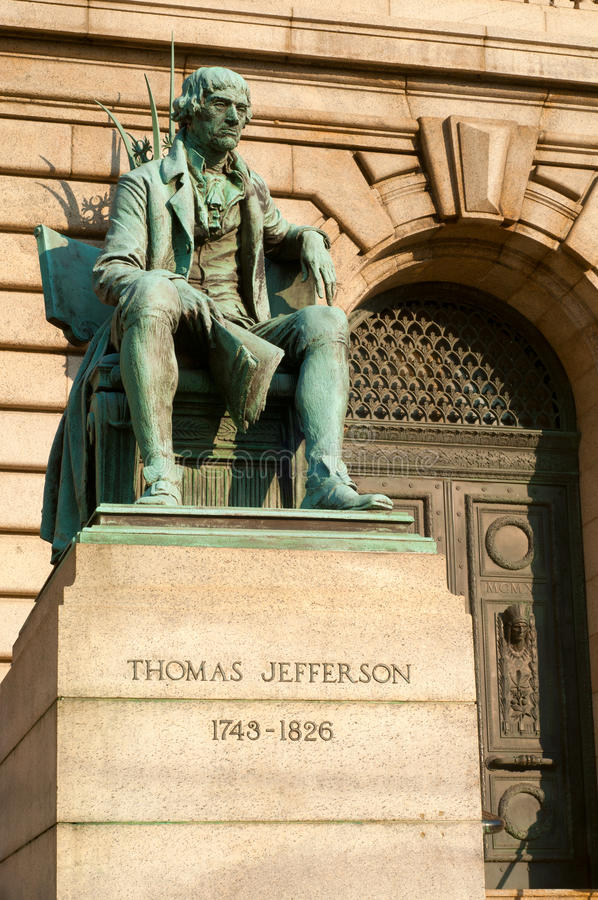 Statue de Jefferson photographie stock libre de droits