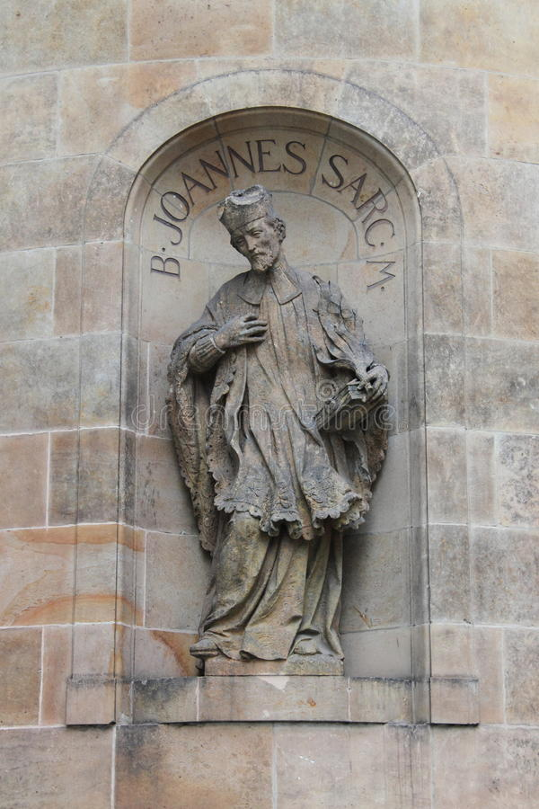 Statue de John Sarkander photographie stock libre de droits