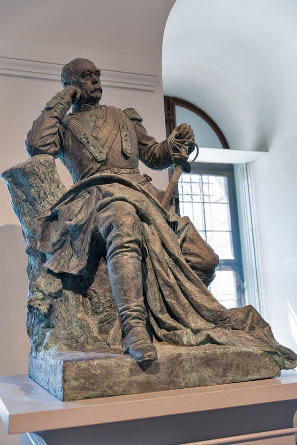 Statue de Kaiser Wilhelm dans le musée historique allemand Berlin, Allemagne image stock