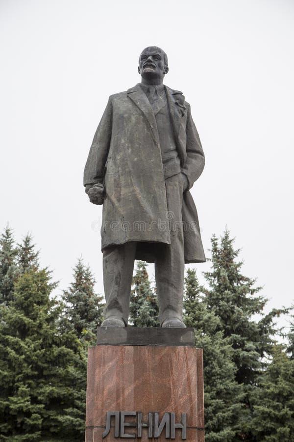 Statue de Lénine dans la Fédération de Russie suzdal et photo libre de droits