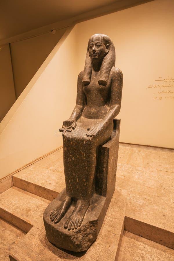Statue de la déesse Iwnit photo libre de droits