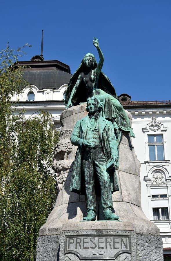 Statue de la France Preseren images stock