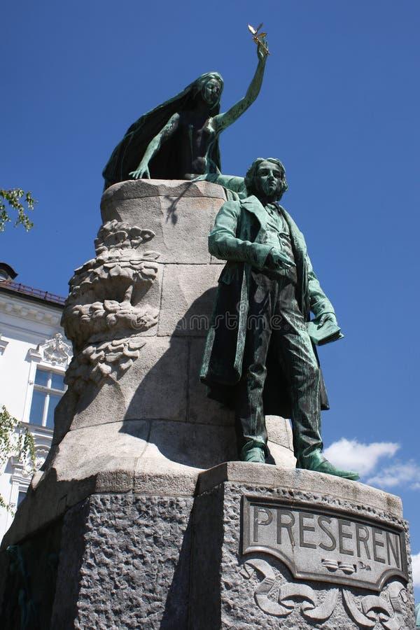 Statue de la France Preseren image stock