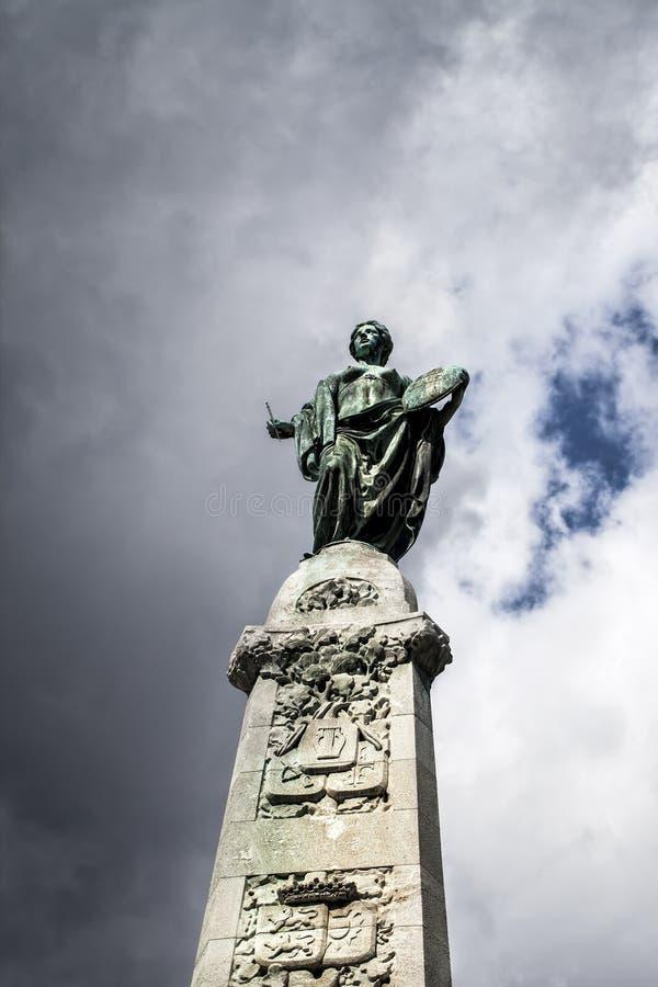 Statue de la liberté à Francfort Allemagne image stock