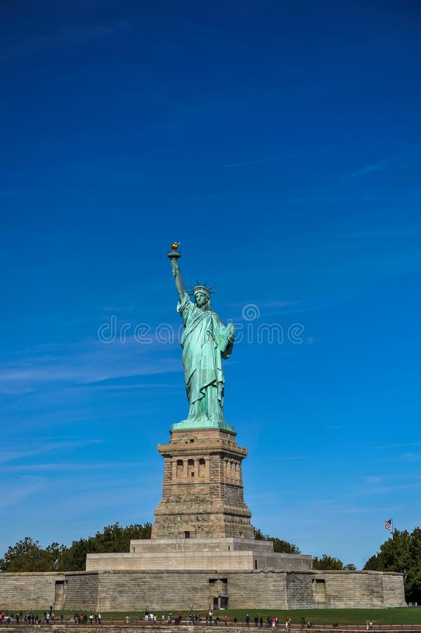 Statue de la liberté à New York City photo stock
