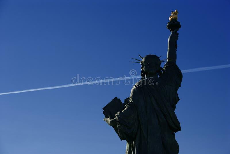Statue de la Liberté à Paris stockfotografie