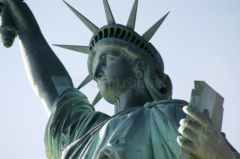 Download Statue de la liberté photo stock. Image du distinctif, immigrés - 727184