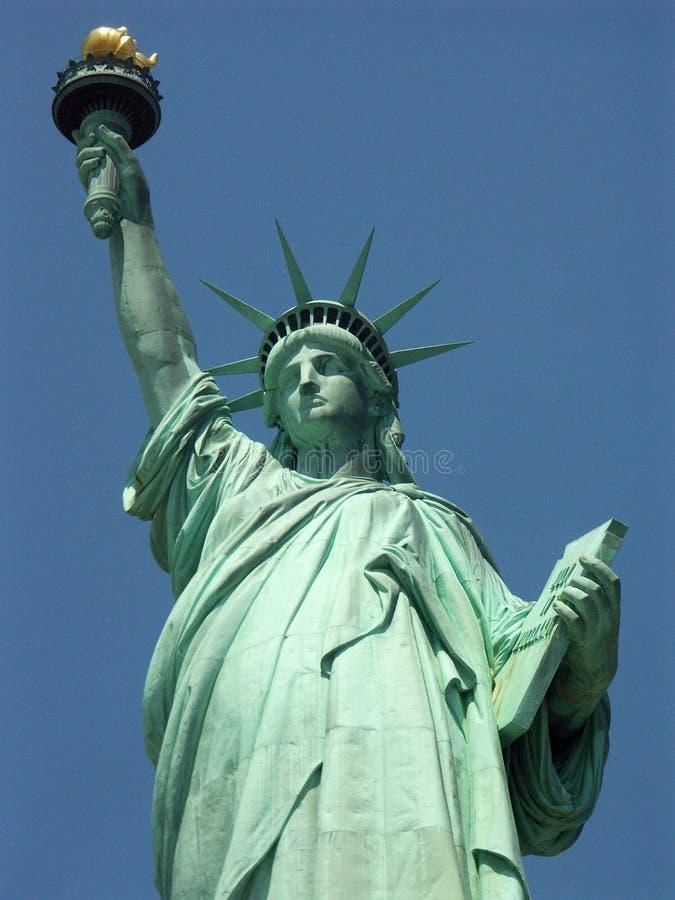 Statue de la liberté dans mes yeux photo stock