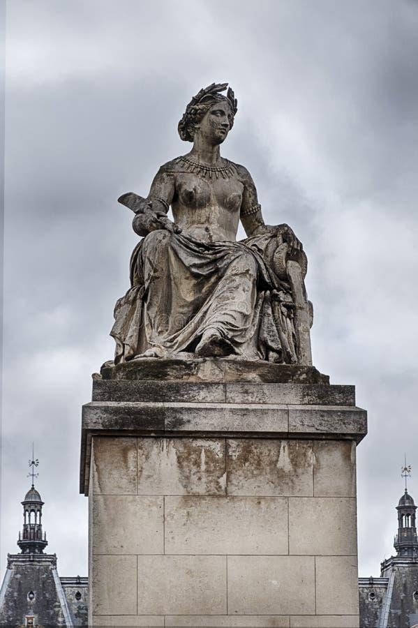 Statue De La Liberté, De L'Égalité, De La Fraternité images libres de droits