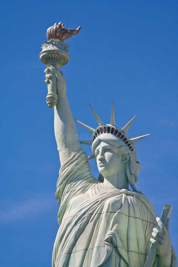 Statue de la liberté, Las Vegas image libre de droits