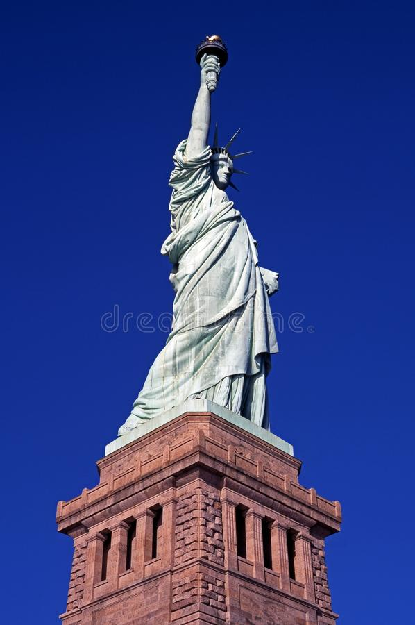 Statue de la liberté, New York. photo stock