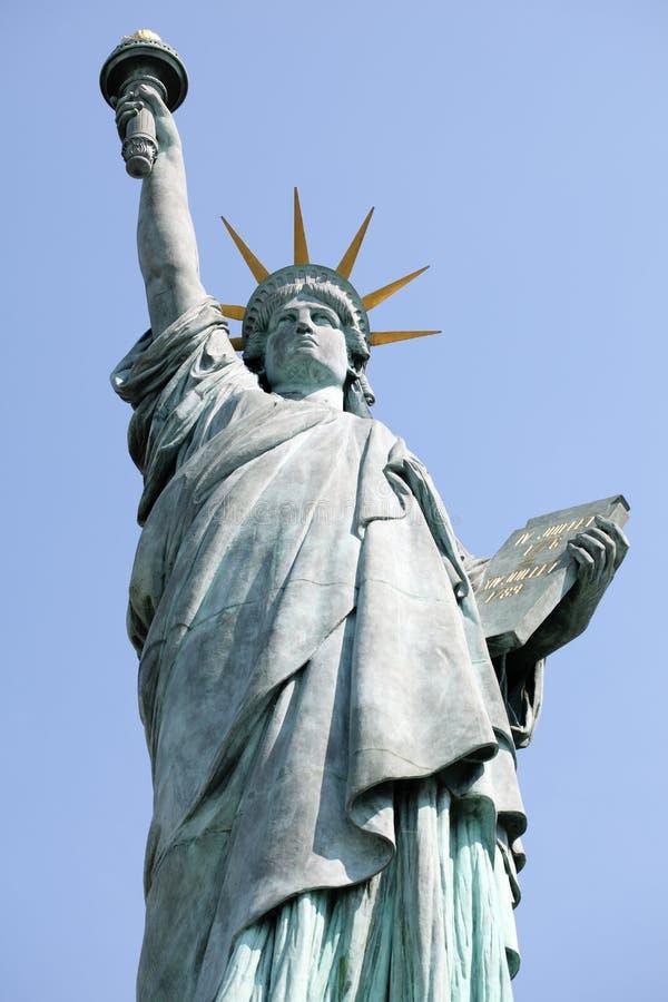 Statue de la liberté, Paris photos libres de droits