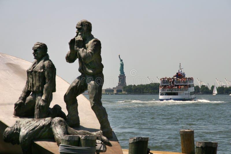 Statue de la liberté sur la liberté photo stock
