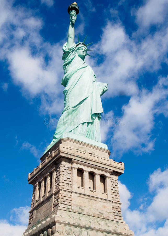 Statue de la liberté sur Sunny Day photo stock