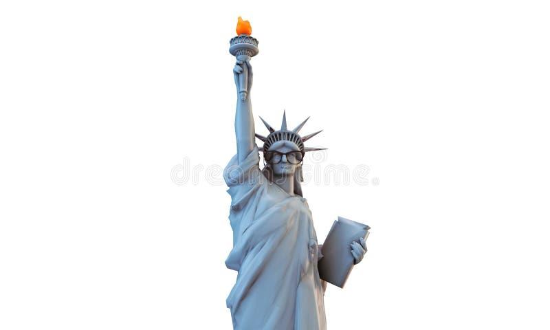 Statue de liberté illustration de vecteur