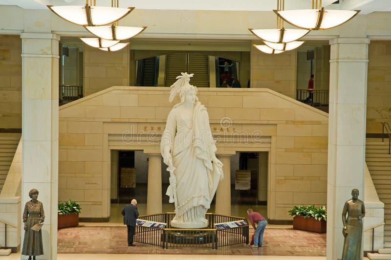 statue de liberté de capitol nous photos libres de droits