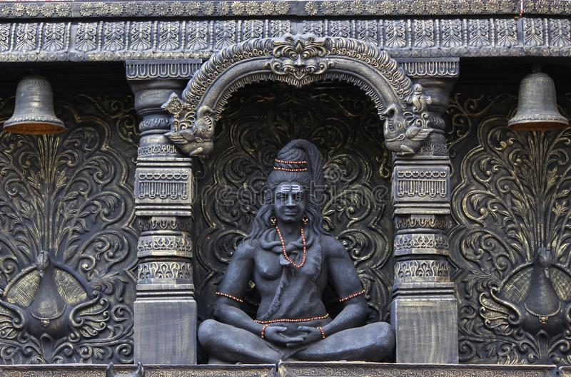 Statue de Lord Shiva, peth de Sadashiv, Pune, maharashtra photos libres de droits