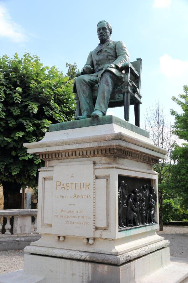 Statue de Louis Pasteur photographie stock