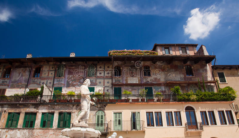 Statue de Madonna Vérone photo libre de droits