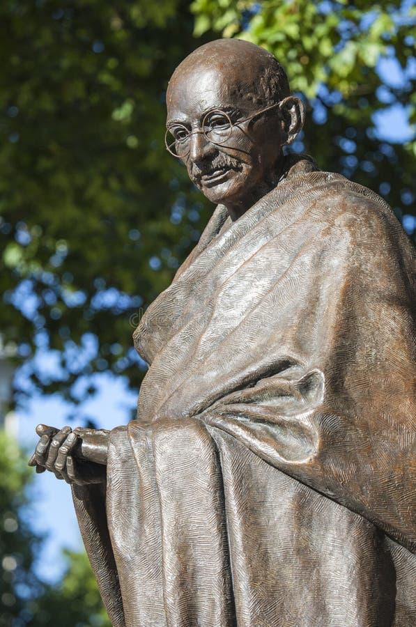 Statue de Mahatma Gandhi à Londres photos stock