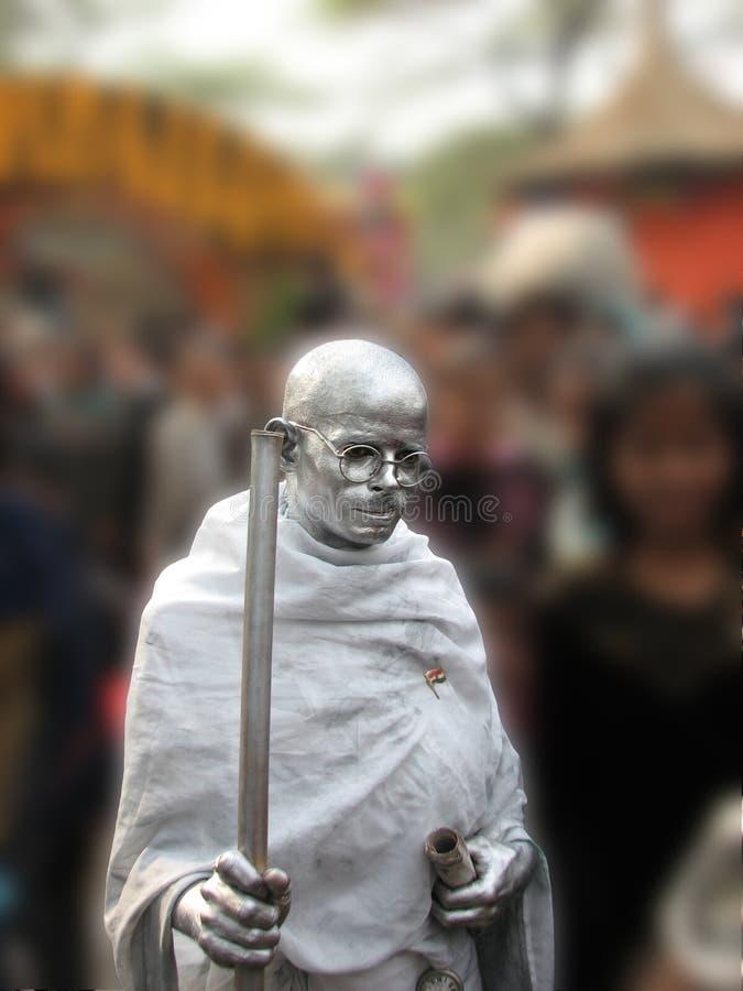 Statue de Mahatma Gandhi photo stock