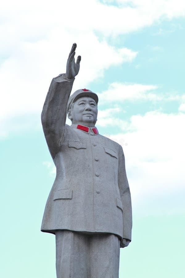 Statue de Mao Tse tung images libres de droits