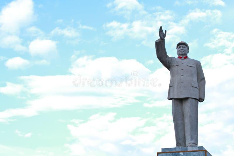 Statue de Mao Zedong photo stock