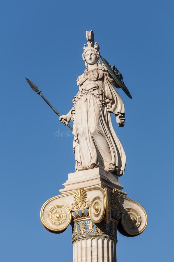 Statue de marbre Athéna photos stock