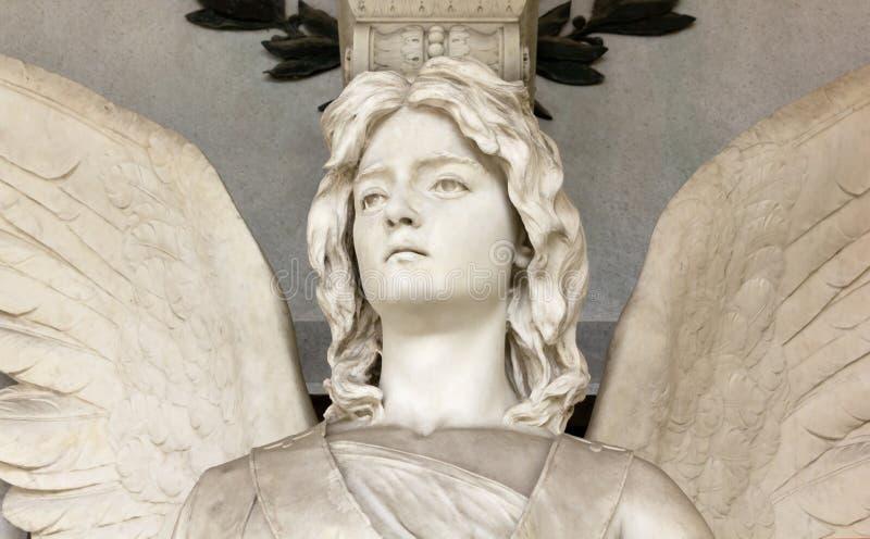 Statue de marbre d'un ange photos libres de droits