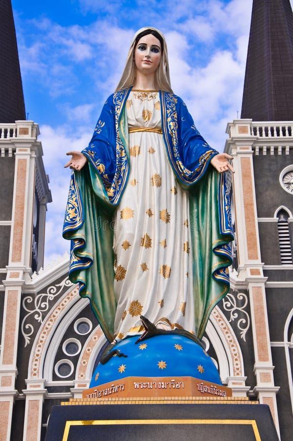 Statue de Maria photographie stock libre de droits