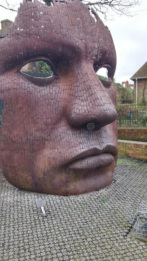 Statue de masque photos stock
