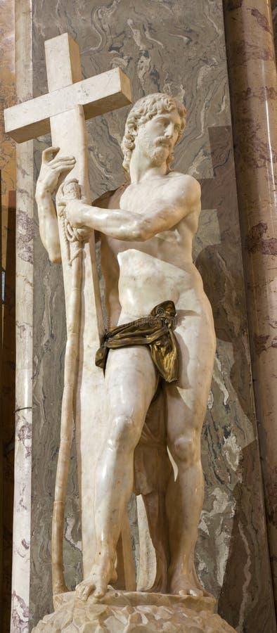 Statue de Michalangelo - de Christ - Rome photos libres de droits
