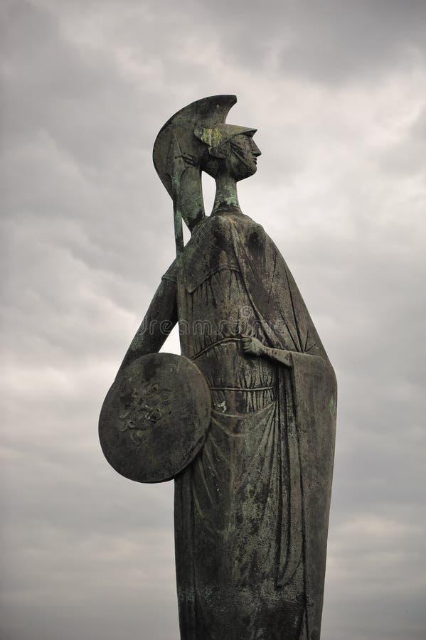 Statue de Minerva photos stock
