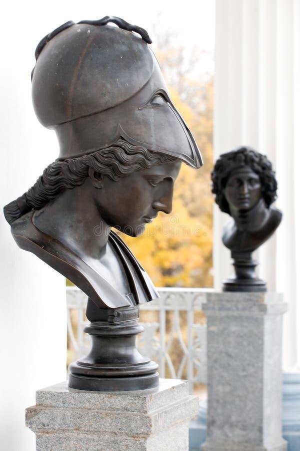 Statue de Minerva images stock