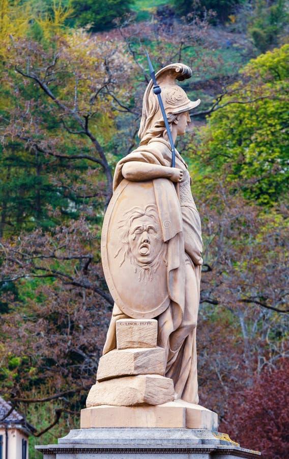 Statue de Minerva photo stock
