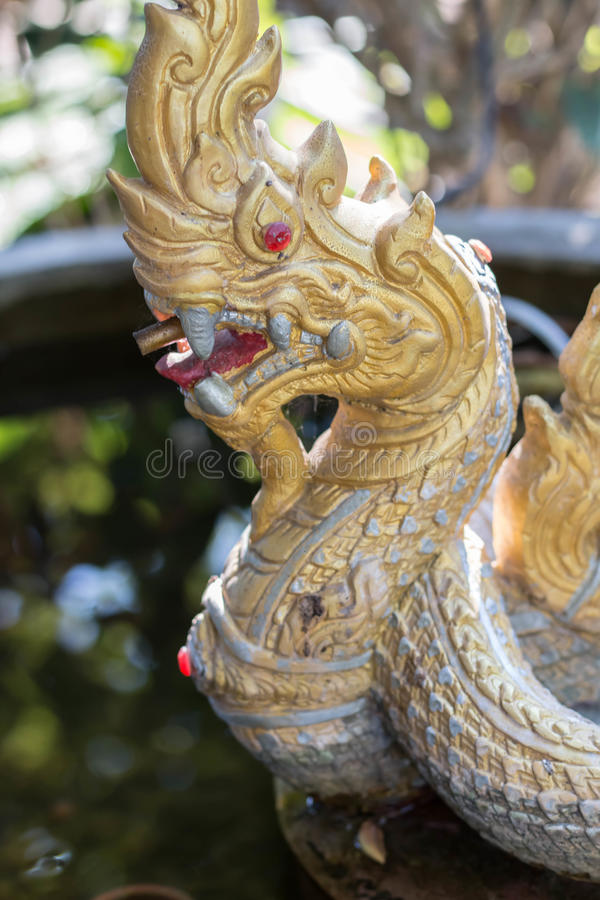 Statue de Naga photos stock