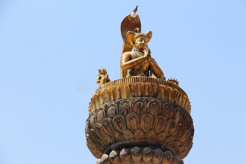 Statue de Namaste photos stock