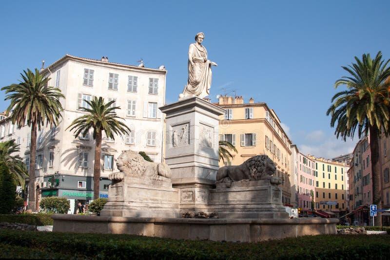 Statue de Napoleon Bonaparte photo stock