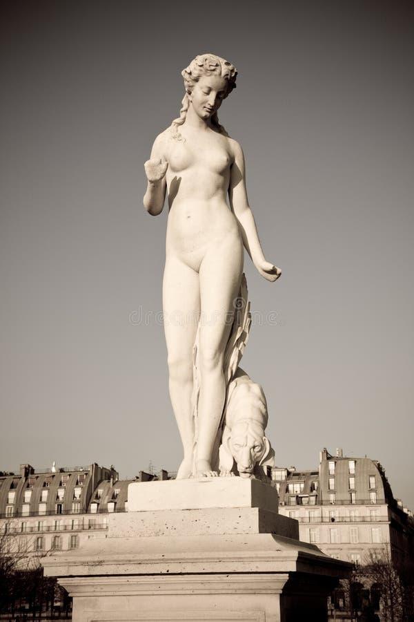 statue de Paris photos stock