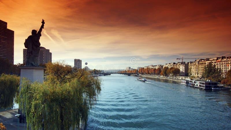 statue de Paris de liberté photo libre de droits